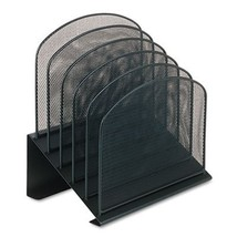 Five-Tiered Sections, Steel  Mesh Desk Organizer - $54.10