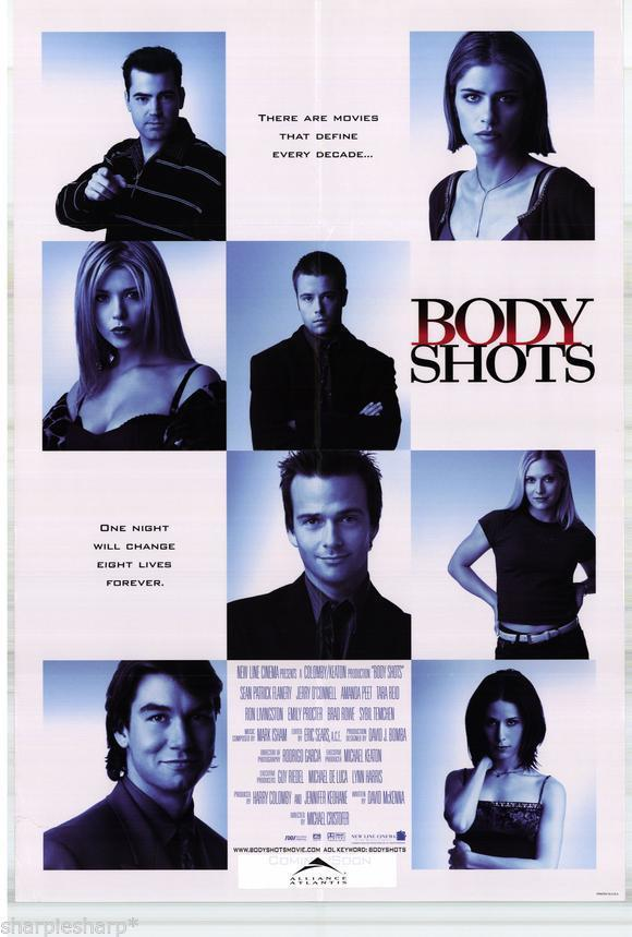 1999 BODY SHOTS Michael Cristofer Motion Picture Movie Poster 13x20