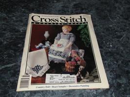 Cross Stitch & County Crafts Magazine January February 1991 Berribboned ... - $1.99