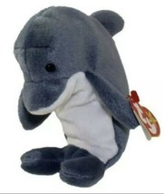 Ty Beanie Babies Waves the Dolphin New with Tags - $8.90