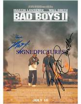 BAD BOYS 2 CAST SIGNED AUTOGRAPHED 8X10 RP PHOTO WILL SMITH & MARTIN LAW... - $16.99