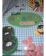 Kids Party Cakes Book By Diane Hocking - $3.49