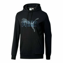 Puma Men's Iridescent Pack Hoodie  NEW AUTHENTIC Black 597873 01 - $54.49