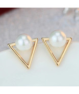 Jewelry, Simple Pearl Gold and Pearl Earrings - $3.99