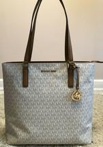$248 NWT Michael Kors Morgan Large Tote Vanilla Handbag - $159.99