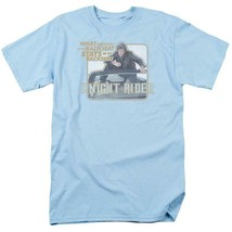 Knight Rider Retro 80's TV show David Hasselhoff & Kitt graphic t-shirt NBC667 image 1