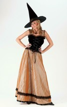 Fun World Elegant Witch Women's Halloween Costume Size Small/Medium (2-8) #5168 - $53.20