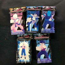 Dragon Ball Z Son Hissatsu Waza Figure Lot of 5 Complete dbz BANPRESTO Goku - $79.80