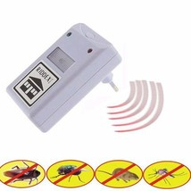 2x Electronic Ultrasonic Riddex Plus Mosquito Rat Rodent Mice Bug Pest R... - $16.95