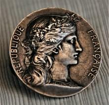 French military medal silver - Prix  Offert par le Ministre de la Guerre - $69.30
