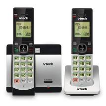 VTech DECT 6.0 2 Handset Cordless Phone with Caller ID CS5119-2  - $44.92