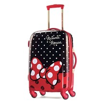 American Tourister Disney Minnie Mouse Red Bow Hardside Spinner 21, Mult... - $145.28