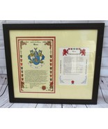 CREER FAMILY NAME HISTORY CREST COAT OF ARMS HISTORICAL RESEARCH CENTER ... - $44.00