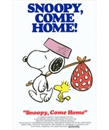 Snoopy Come Home Collectible Movie Stand-Up Display - Animation Comedy D... - $15.99