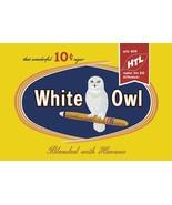 Snow Owl Cigars - Art Print - $19.99+