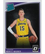 Moritz Wagner Donruss Optic 18-19 #197 Rookie Card Los Angeles Lakers - $0.75