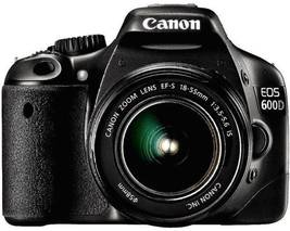 Used,Canon EOS 600D Digital SLR Camera with  18-55IIS/ 18-55IS STM Lens - $391.49+