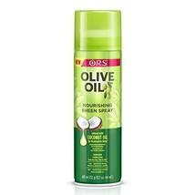 Olive Oil Ors Nourishing Sheen Spray, 11.7 oz Pack of 2