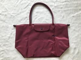 Longchamp Club Le Pliage Bag Red Large L1899619C87 - $87.99