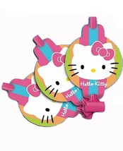 Hello Kitty Flower Stripes Blowouts 8 Per Package Birthday Party Favor S... - $3.71
