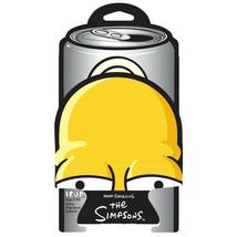 The Simpsons Homer Die-Cut Face Image Beer Huggie Drink Can Cooler Koozi... - $6.43