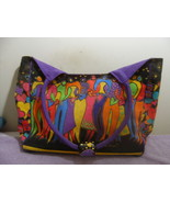 LAUREL BURCH FRIENDSHIP TOTE CANVAS COLOR FUL.  - $14.99