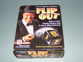 Larry Hagman Presents Flip Out Game 1985 Mattel Game COMPLETE - $20.00