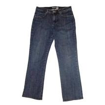 CHICO'S PLATINUM Jeans 1 Mid-Rise  Demi Boot Stretch Denim Medium Wash S... - $13.91