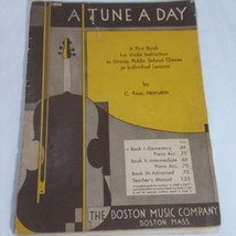 A Tune A Day Book 1  First Book For Violin Instruction  by C Paul Herfurth - $10.36