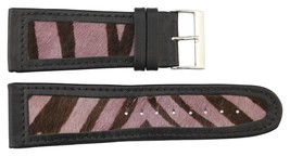 Moog Paris Light Pink Calf Horse Skin Band Replacement, Horse Skin Pattern, Pi - $31.91