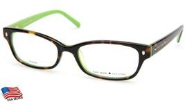 New Kate Spade New York LUCYANN 0DV2 Tortoise/Kiwi Eyeglasses Frame 49-16-135mm - $78.68
