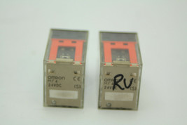 Lot Of 2 Omron MY4 24VDC Non-Latching Relay 24VDC 5A Used - $9.89