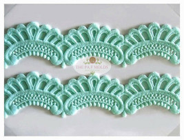 Sugarcraft Molds Polymer Clay Molds Cake Decorating Tools lace mold 7767 - $35.53