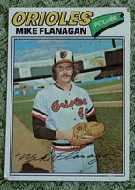 Mike Flanagan, Orioles,  1977  #106 Topps  Baseball Card GD COND - $0.99
