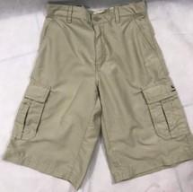 Quiksilver Sz 28 Regular Fit Men's Beige Cargo Swim Shorts - $21.77