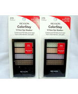 Revlon ColorStay Eyeshadow Quad Wildflower No 370 2 Pack New - $14.00