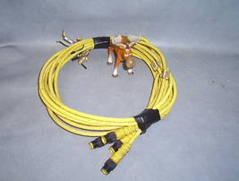 "Remke Industries Cordset 4 Pin 68"" Lot of 4 804006B02M1 - $20.08"
