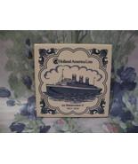 Delft Blue Holland America Line SS Statendam II Ship Tile  - $9.99