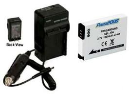 Battery + Charger For Samsung L200 M110 EC-WB700ZBPBCA SL105 SL203 SL310 SL310W - $18.46