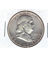Nice 1949P Franklin Silver Half Dollar - $20.00