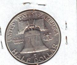 Nice 1949P Franklin Silver Half Dollar image 2