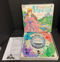 Pretty Pretty Princess Board Game Jewelry Dress Up 1995 Girl Fun Imagine... - $46.74