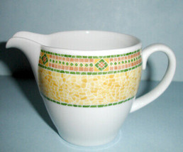 Wedgwood FLORENCE Cream Creamer Mosaic Tile Pattern Home Collection New - $19.99