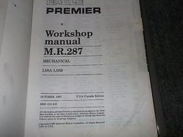 1988 Eagle Premier Service Shop Repair Workshop Manual FACTORY OEM BOOK 88 image 2