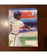 Ron Gant Atlanta Braves Sports Illustrated September 27 1993 MLB Baseball  - $3.96