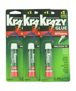Krazy Glue Super Glue All Purpose Precision Tip 3 ct 0.07 oz  - $6.88