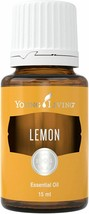 Lemon Essential Oil 100% Pure Therapeutic Grade Young Living Antioxidant New - $20.56