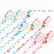 8 pcs/Lot Watercolor paper washi tape Vintage masking tapes Decoration a... - $56.07