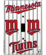Minnesota Twins MLB Metal Novelty Light Switch Cover Plate - $12.95