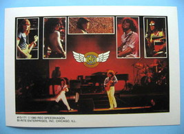 REO SPEEDWAGON 1980 Mini-Poster Photo Sticker - $5.98